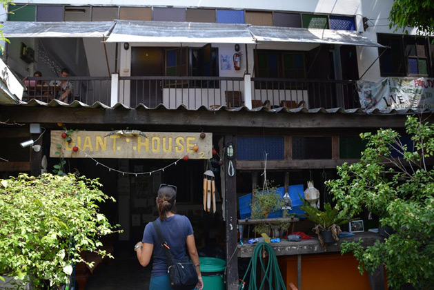 Our guest house in Chiang Mai: Giant House