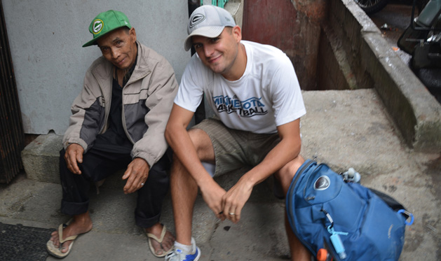 A 1980's Green Bay Packers hat spotted in a rural Philippines mountain town.