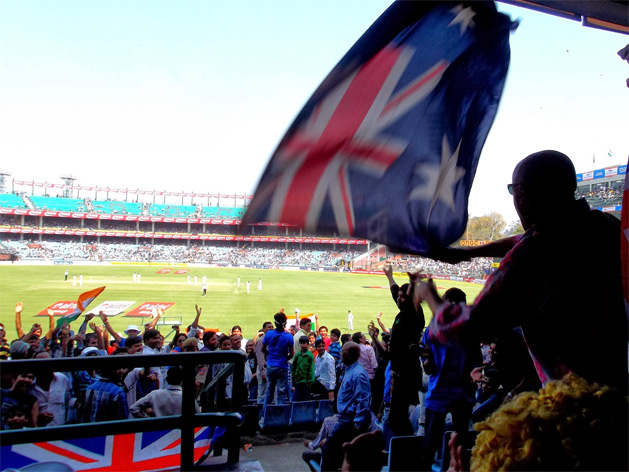 From Tash: Sitting in the crowd at an Indian Test Match in Delhi, cheering the Aussie team, there was nothing quite like watching the locals cheer and squeal their affection for Sachin Tendulkar - The Little Master. A bucket list item, for sure, as a cricket fan!
