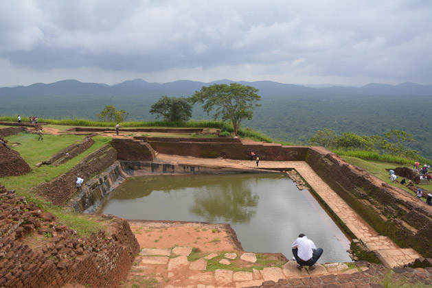The ancient palace pool.