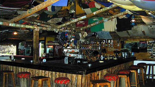 The bar at Snake Park