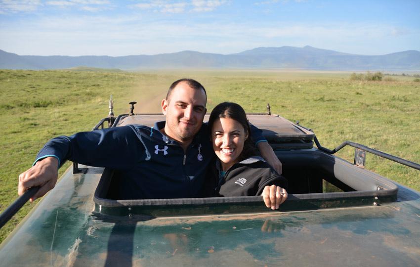 On safari in the Serengeti