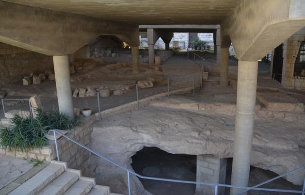 The ruins of Nazareth.