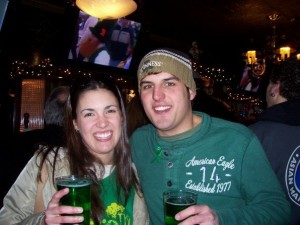 Me (25 pounds ago) and Alissa on our first trip together to Chicago in 2007.