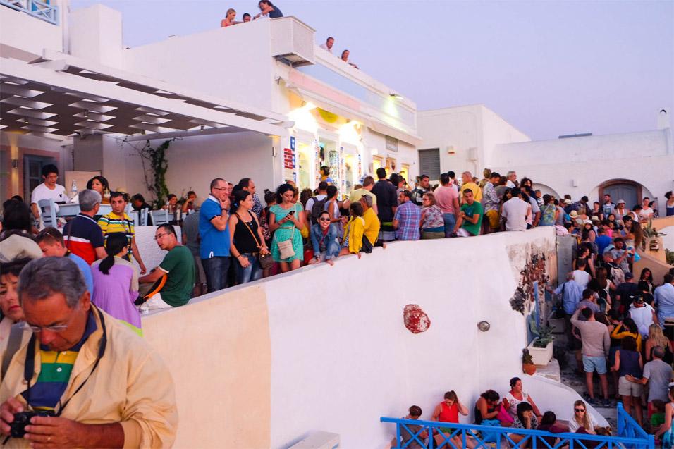 crowded-santorini