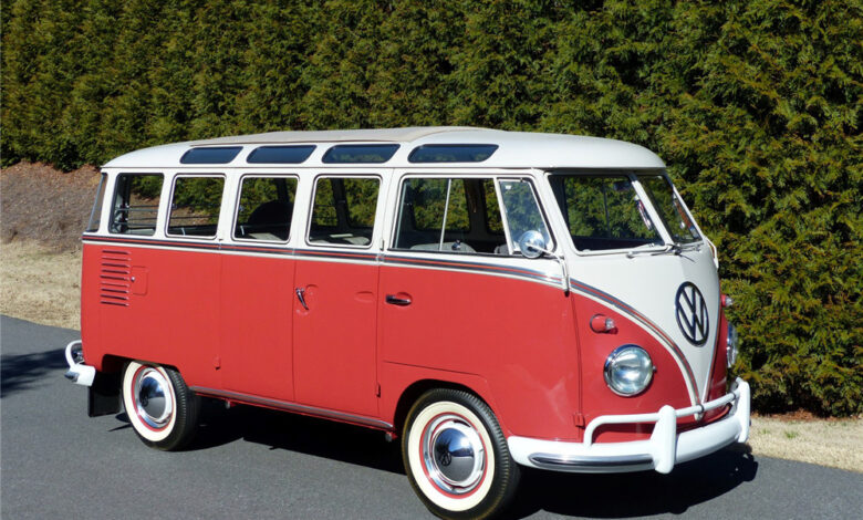 23 Window VW Bus Sold for $291,500.00