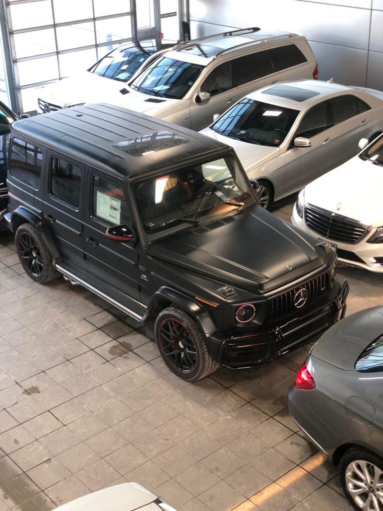 Mercedes G63 2018
