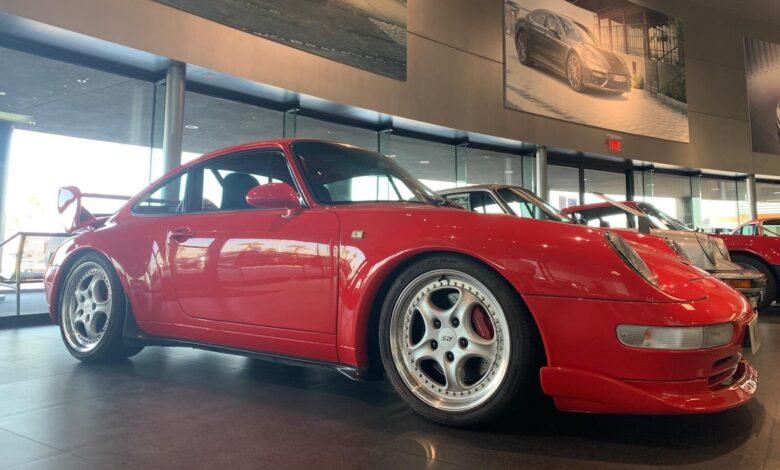 Porsche 993 911 RS Clubsport