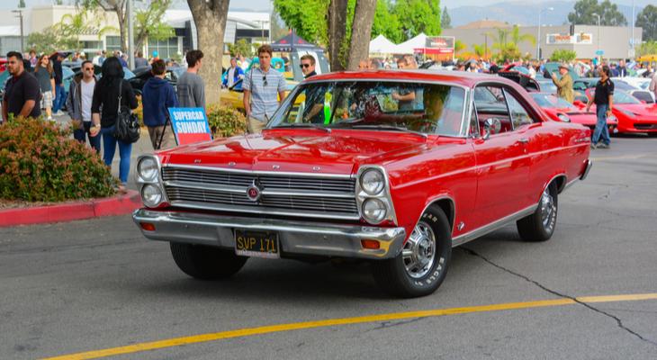 1963 Ford Galaxie Fastback