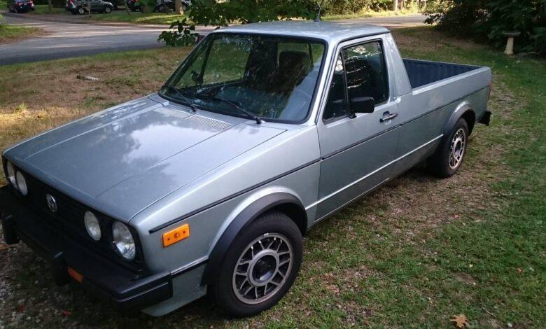 1981 Volkswagen Pickup