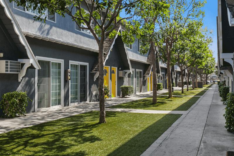 Northwind Apartment Homes walkway