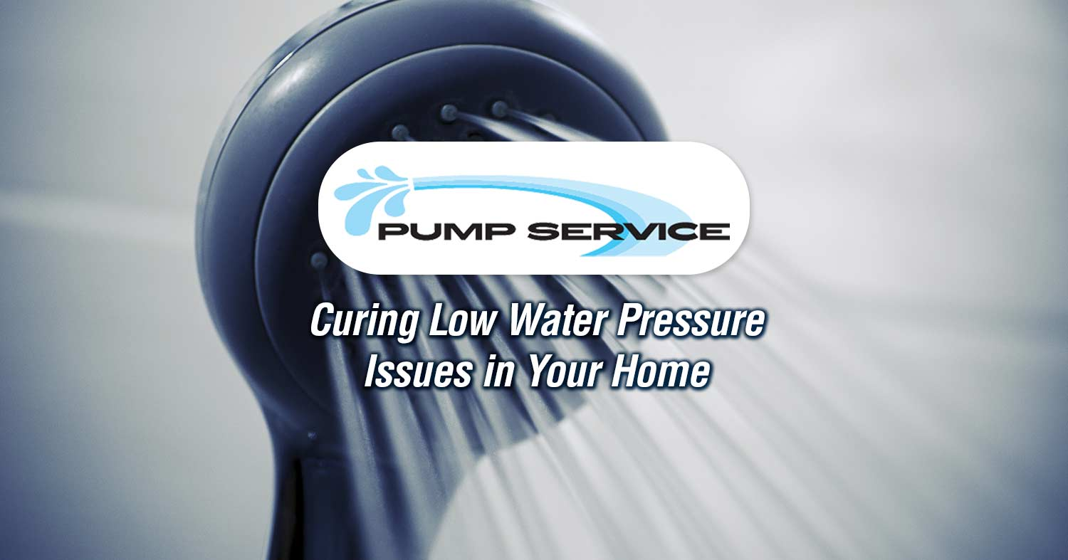 Curing Low Water Pressure Issues in Your Home