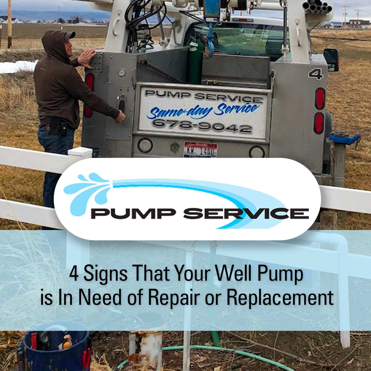 4 Signs That Your Well Pump is In Need of Repair or Replacement