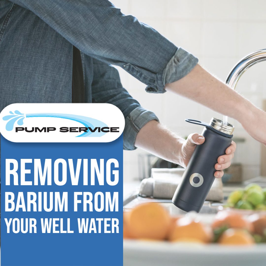 Removing Barium from Your Well Water