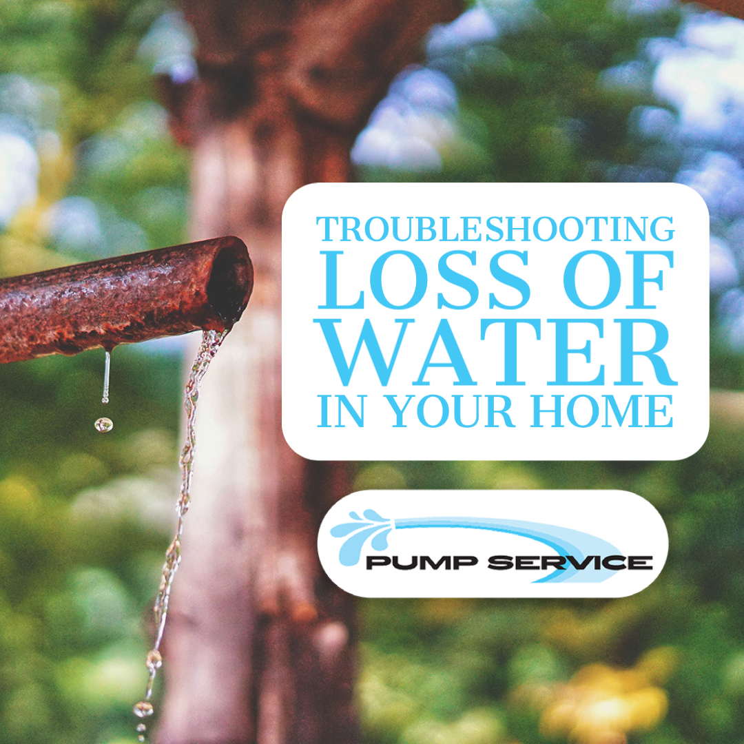 Troubleshooting Loss of Water in Your Home