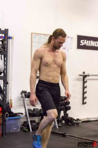 Chris getting through double unders