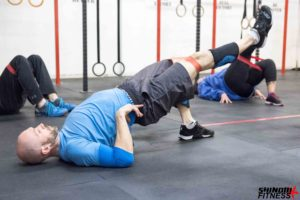 Glute activations with Coach Suavek