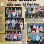 EPS Elgin Public PJCC Pope John Academic Allstars page 2nd quarter 2021 Elgin Review Elgin Nebraska Antelope County Nebraska