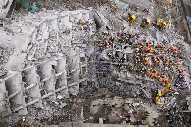 Moulivakkam Demolished Building