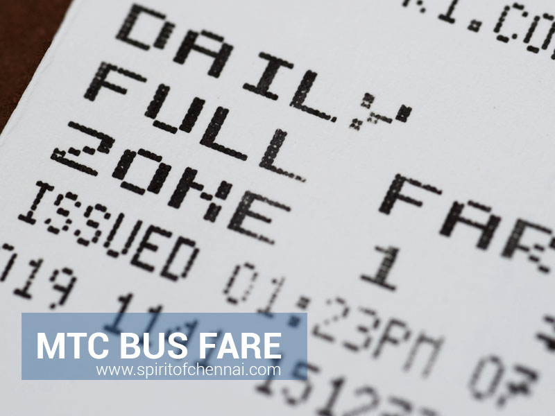 MTC Chennai Bus Fare