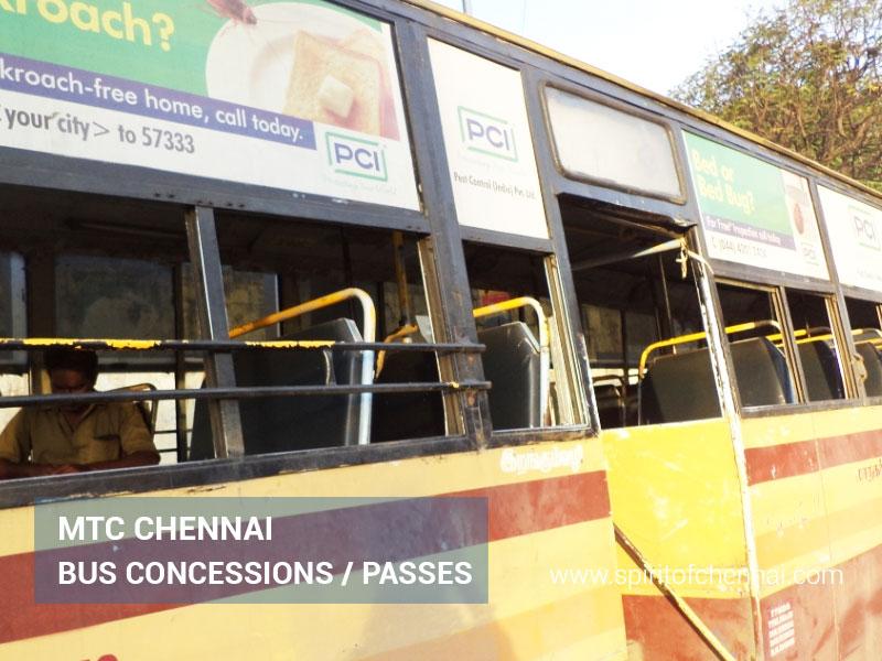 MTC Bus Pass Concession