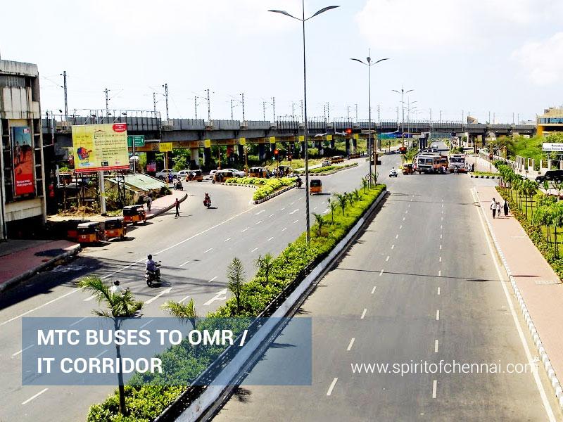 MTC Buses to OMR