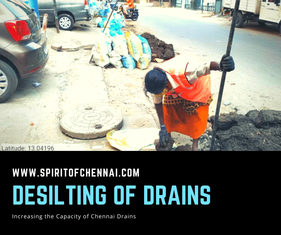 Desilting of Storm Water Drains in Chennai
