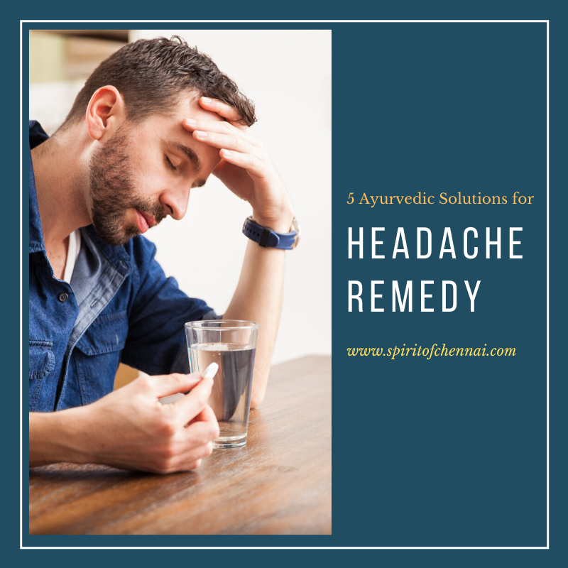 Home Treatment for Headache in Chennai