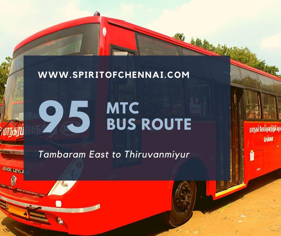 MTC 95 Bus Route