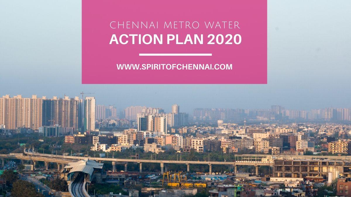 Chennai Metro Water - Water Crisis Action Plan 2020