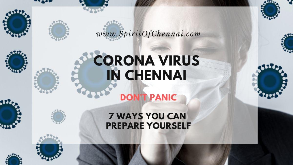 Corona Virus in Chennai