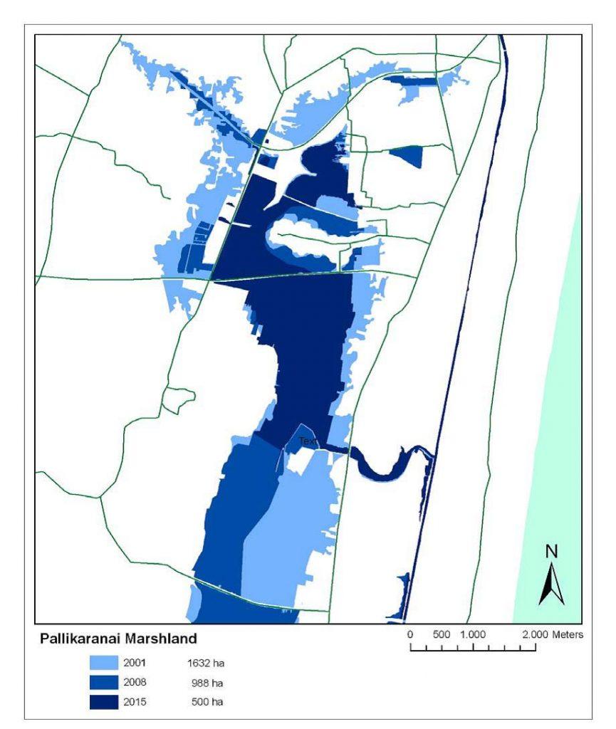 Pallikaranai Water Retention Capacity