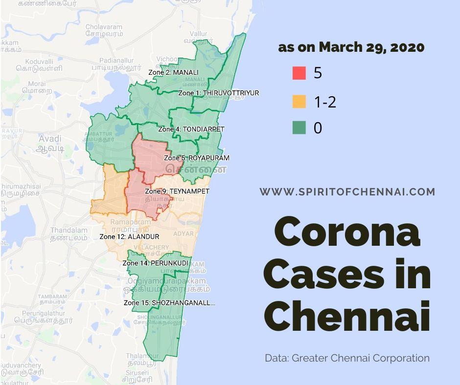Chennai Corona Cases Latest Update