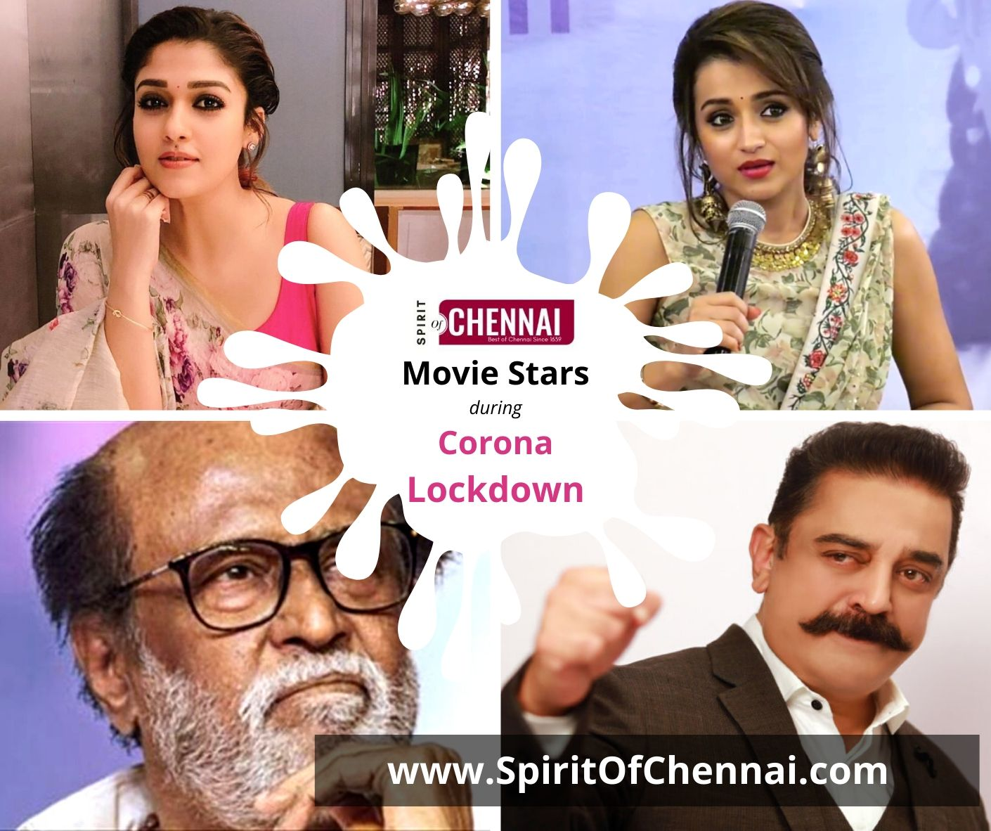 Movie Stars during Corona Lockdown
