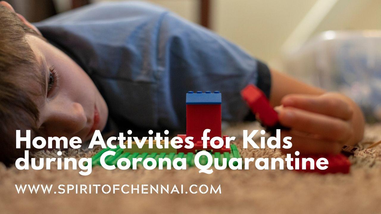 Activities for Kids During Corona Quarantine