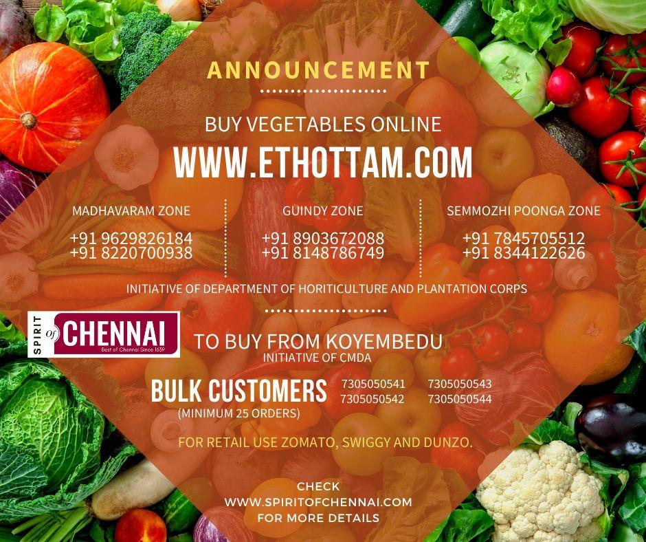 Buy Vegetables Online in Chennai and Tamilnadu
