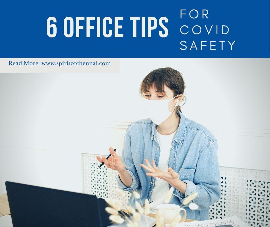6 Office Precaution to prevent COVID