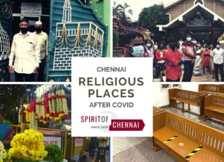 Religious Places in Chennai Before & After COVID