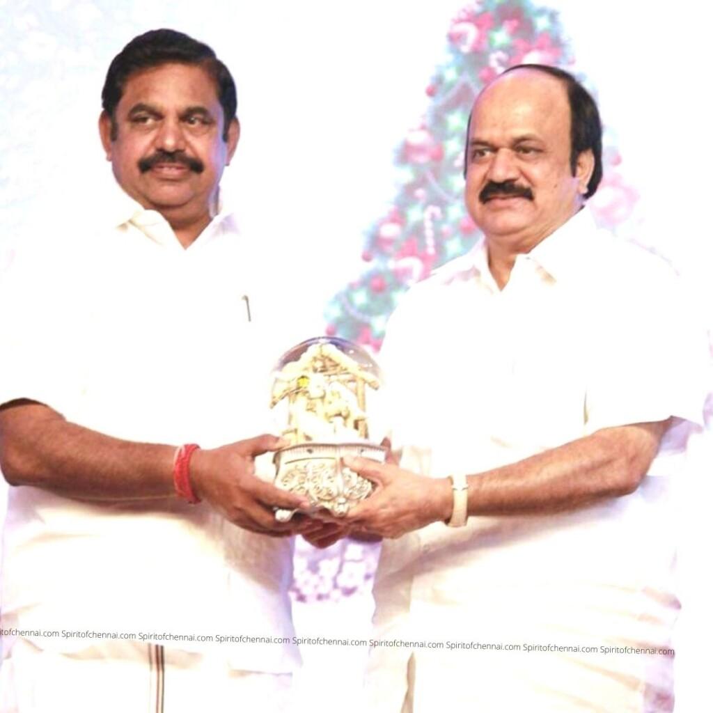 J.C.D.Prabhakar with President EPS