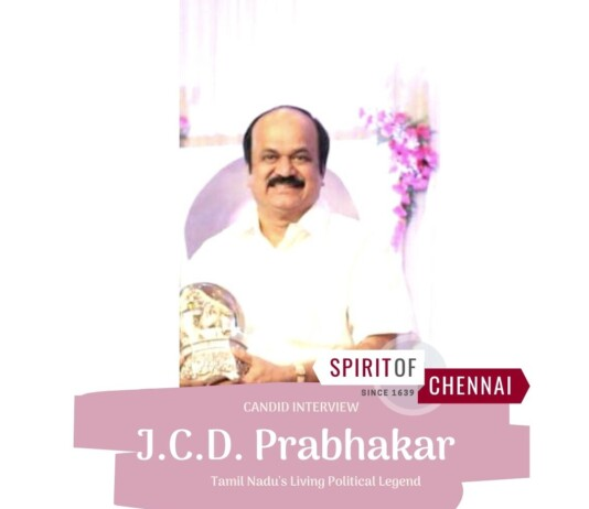 J.C.D.Prabhakar: Interview with TN Politician
