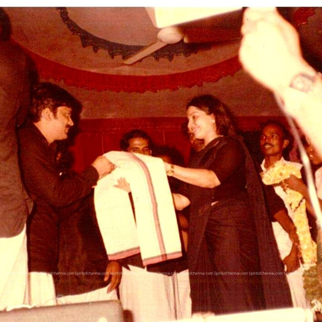 J.C.D.Prabhakar with Ms. J. Jayalalitha