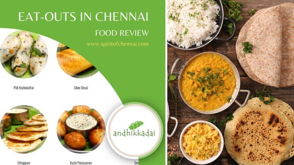 Andhikkadai Eat Out Chennai