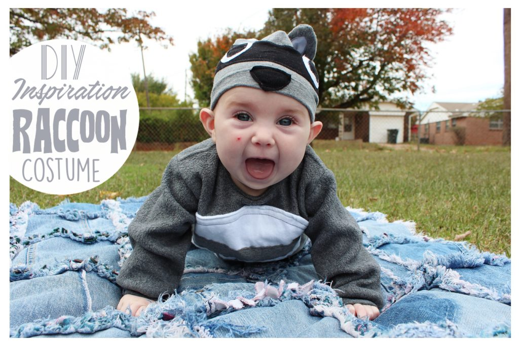 Raccoon Halloween Costume DIY Inspiration from Whitney Sews