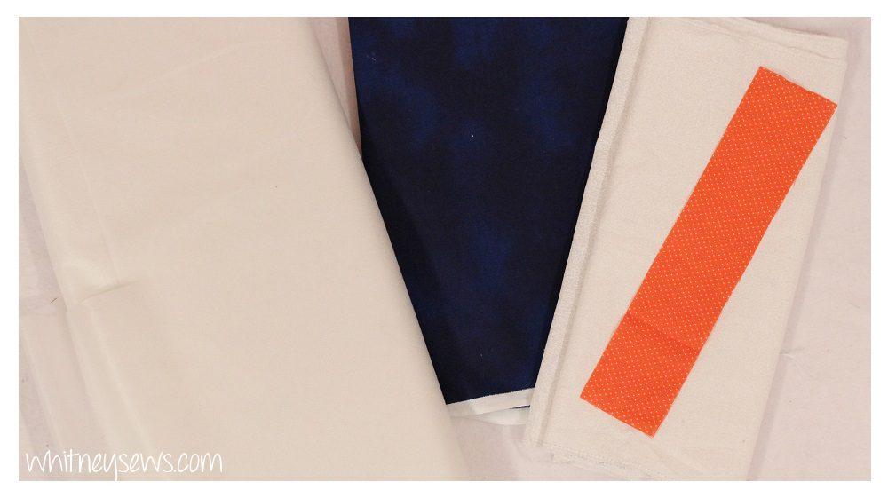 Snowman Mini Quilt Supplies
