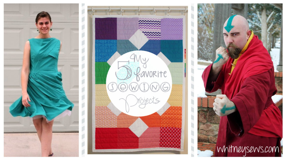 Five Favorite Sewing Projects from Whitney Sews
