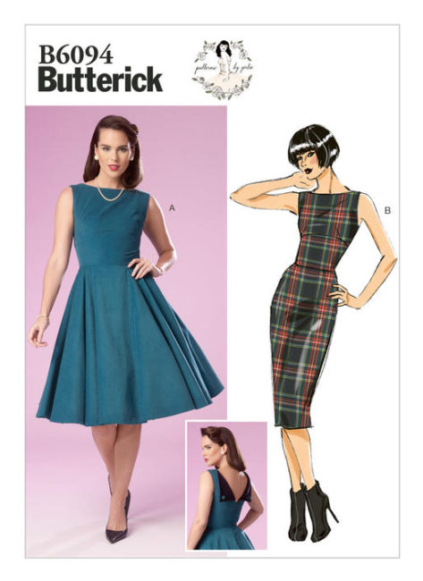 Patterns by Gertie Butterick 6094 sew along