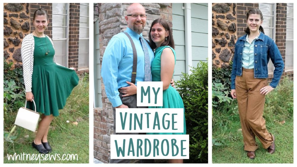 My handmade and thrifted vintage style clothing