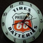Vintage Phillips 66 DB Clock