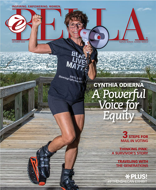 eBella Magazine October 2020 Cover