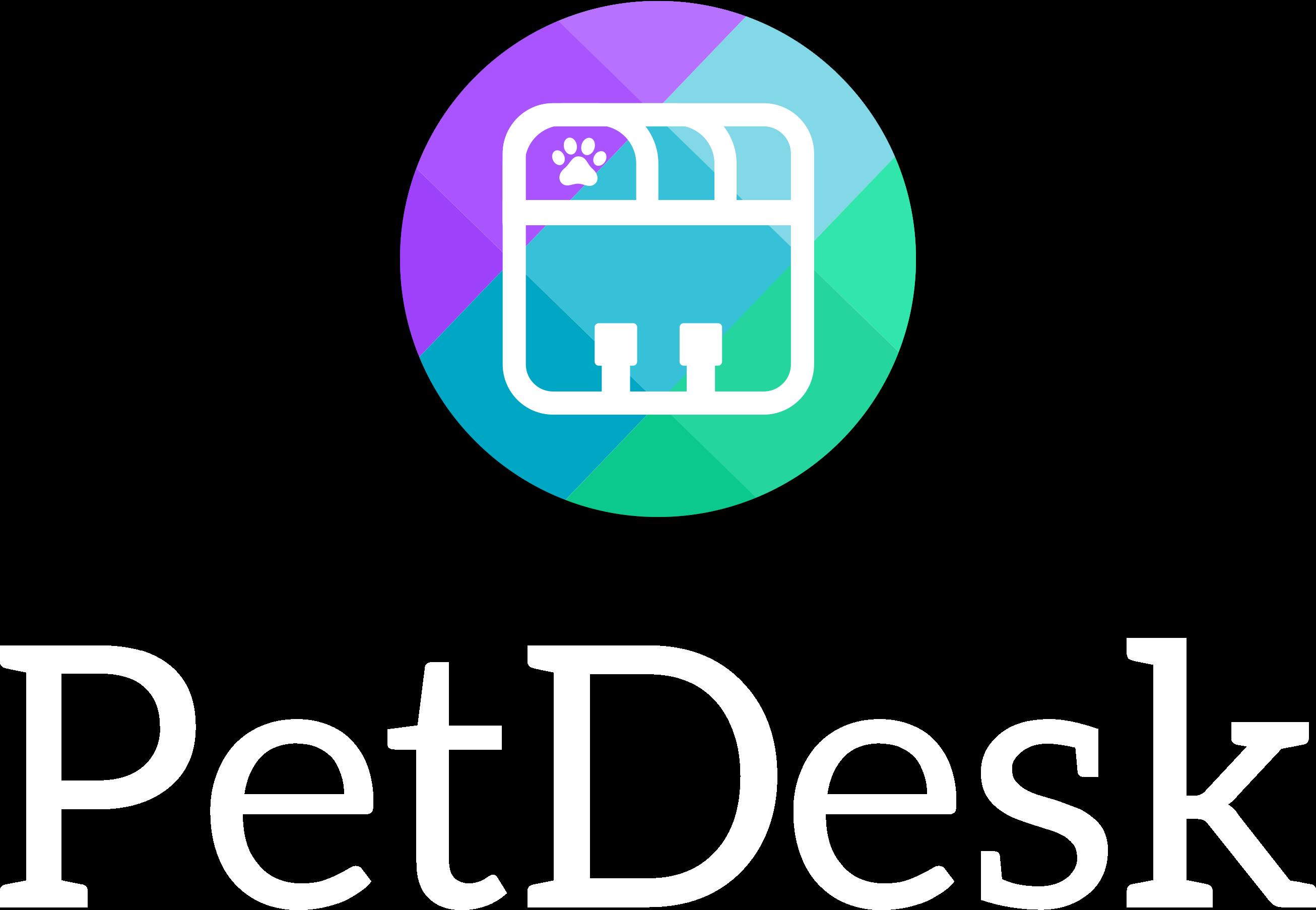 PetDesk-Vertical-Logo-White